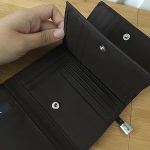 NWT Brown Sonoma Small Wallet